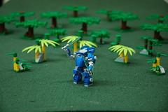 The Bright Seraphim (Bryan Rombough) Tags: miniatures lego ottawa mecha wargames 2014 legomecha mfz fandomii mf0 mobileframezero legogaming