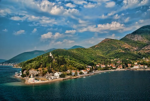 Montenegro Coastline near Kotor  [explor by trishhartmann, on Flickr