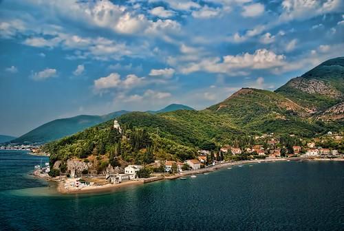 Montenegro Coastline near Kotor  [explor by trishhartmann, on Flickr