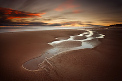 Seaton Sluice Beach (Alistair Bennett) Tags: longexposure seascape beach sunrise coast rocks northumberland seatonsluice sandpool nd18 canonef1740mm4lusm gnd075he gnd045se