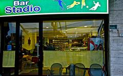 bar stadio - Civitanova M. (enricoerriko) Tags: road door red italy woman sun moon toronto canada man green smile female bar night photo blackwhite strada italia noir tramonto alba map bambini rotonda libro case luna made uomo giallo alberta donne angelo sole cartina popolo nuit cavallo antico caff lettura notte italie marche professore mods portone uomini 2014 passeggiata sulky unit ragazzini rotatoria romanzo civitanovamarche portocivitanova popolari manonellamano cartacanta sanmarone stortoni barstadio erriko enricoerriko stradedaasfaltare