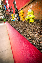 Waiting for the Decisive Moment . . . (dbpeterson723) Tags: vanishingpoint cityscape firehydrant prescott