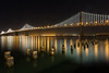 Bay Lights (boingyman.) Tags: sanfrancisco night landscape cityscape baybridge scape boingyman
