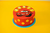 RayoMcQueen Cake (charly's cakes) Tags: cakes chocolate amarillo icing frosting donostia layercake relleno azúcar fondant buttercream cacao creativa felicidades charlys bizcocho royalicing repostería reposteríacreativa galseadoreal
