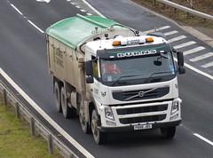 P888 JBS (Cammies Transport Photography) Tags: tarmac truck volvo edinburgh lorry burns fm newbridge flyover lafarge m9 p888jbs