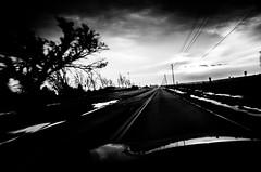 . (hornbeck) Tags: blackandwhite bw oklahoma driving bnw