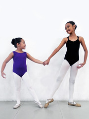 Ballet sisters (got 2 dance) Tags: girls ballet love sisters dance shoes tights slippers leotards tendu dancestudents rhythmworksdanceschool