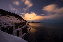 City light reflections (piknic) Tags: nightphotography newfoundland landscape middlecovebeach astrophtography