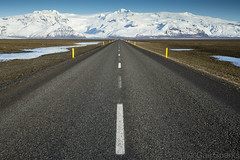 Vanishing Point (sparky4072) Tags: road canon point iceland glacier 5d vanishing vatnajokull