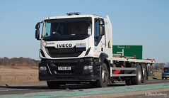 Isleburn Iveco ST63 ARX (Kilmachalmag) Tags: highland trucks a9 lorries lorrys alness alnesspoint