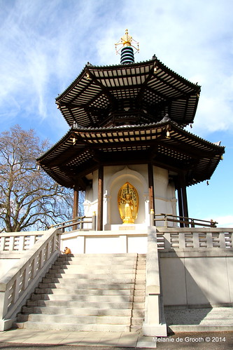 Battersea Park Peace Pegoda 2