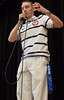 Jordan Malone speaks at Nelson Elementary (dentonisd) Tags: ice vancouver texas tx skater olympics denton medals sochi schoolassembly speedskater dentonisd jordanmalone nelsonelementary