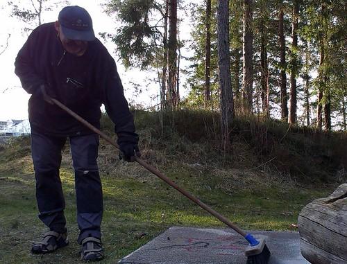 Dugnad 2014 nr1: Knut vaskar