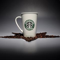 Starbucks (FraserLeadbetter) Tags: nyc coffee la beans nikon starbucks mug d90 nikond90