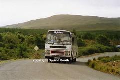 Highland LUA280V nr Broadford 1994 (Rightgoodmotor) Tags: bus skye scotland scottish highland leopard supreme leyland sleat plaxton lua280v