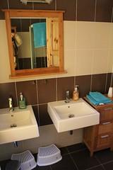 chalupa - koupelna v patře