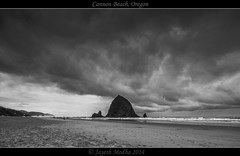 Haystack Rock (Tokina 11-16mm) - [Explored - May 6th 2014 - #179] (Jayesh Modha) Tags: haystackrock cannonbeachor atx116prodx tokina1116mmf28dxlens jayeshmodha jayeshmodhanikond90 jayeshmodhaphotography