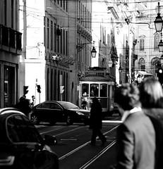Lisboa (mgkm photography) Tags: street urban bw blancoynegro portugal monochrome 50mm calle lisboa lisbon streetphotography gimp sigma linux streetphoto rua pretoebranco blackandwhitephotography streetshot 50mm18 urbanphotography monochromephotography fotografiaurbana lisboanarua blackwhitephotos ptbw nikonphotography opensourcephotography ilustrarportugal d7000 europeanphotography streettogs bnweurope