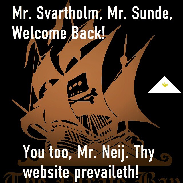 #PIRATEBAY #kopimi #sharethis