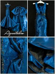 Aquamarine- Dress (AlexNg & QuanaP) Tags: fashion dress formal aquamarine accessories gown fr fr2 alexng aquataliss aquatalis