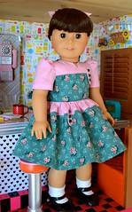 Fiona's Fifties Dress (melimeli - photos) Tags: ag dolly americangirl duds keepers dressbymelimeli