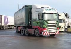 H2050 - PE64 EPJ (Cammies Transport Photography) Tags: truck elizabeth amy centre tesco lorry eddie livingston distribution scania esl epj stobart eddiestobart r450 h2050 pe64 pe64epj