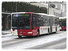 TPF 594, Mercedes-Benz Citaro (v8dub) Tags: schnee snow bus public car mercedes benz schweiz switzerland suisse trolley transport neige fribourg freiburg autobus trolleybus autocar tpf 594 publique verkehrsmittel citaro öffentliche