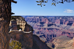 Grand Canyon   20 (Largeguy1) Tags: blue clouds landscape grand canyon approved vsky