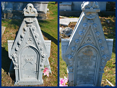 Key West (Florida) Trip, November 2014 0167-0168 (edgarandron - Busy!) Tags: cemeteries cemetery keys florida keywest floridakeys keywestcemetery