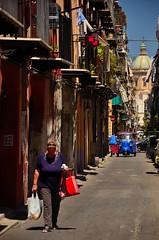 Palermo (Massimo Frasson) Tags: street people italy strada italia gente chiesa cupola palermo oldcity sicilia centrostorico ballar pittoresco quartiereballar