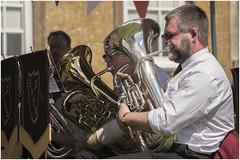 Upton House 40's Weekend 3 (Darwinsgift) Tags: musician house nikon war weekend band 1940s national trust brass warwickshire 40s upton d810