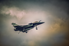 Dassault Rafale Marine (Pixelicus) Tags: sky colors clouds plane airplane army nikon marine aircraft aviation avion d700