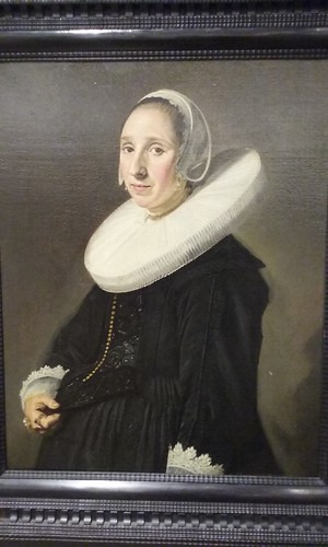 Frans Hals, portrait of a Lady, ca. 1630-35