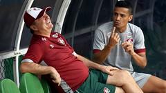 Fluminense 28.05.2016 (Fluminense F.C.) Tags: sorrindo conversando treinando