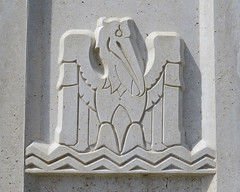 Louisiana State Capitol (Flagman00) Tags: sculpture detail building monument architecture louisiana coatofarms state outdoor pelican relief capitol batonrouge artdeco allegory