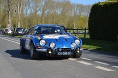 Alpine A110 1600S 1970 (Monde-Auto) Tags: auto automobile course renault bleu alpine coup a110 comptition berlinette