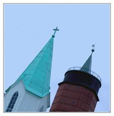 Tower Power (Anders Hjertn) Tags: water sweden watertower vrmland sffle watersupply