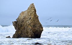 El Matador State Beach, Malibu, USA (james.mason01) Tags: ocean usa beach water birds rock los angeles malibu formation emerica