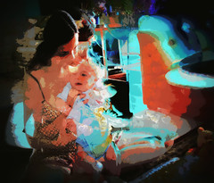 Mother's Love (soniaadammurray - SLOWLY TRYING TO CATCH UP) Tags: love manipulated scary experimental child mother kind glorious responsibility quotes huge motherhood job gamble digitalphotography mariashriver ethical gildaradner robertbrowning infiniteoptimism