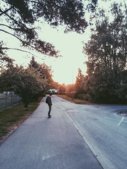(LusRodrigues) Tags: sunset estonia cruising skate longboard eesti tartu longboarding