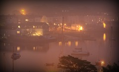 Misty Evening at Stonehouse (Paul.Y-D) Tags: sonehouse devonport plymouth devon uk foggynight lights mist boats harbour reflections water
