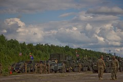 2CR Dragoon Ride II in Panavezys, Lithuania June 12, 2016 (2d Cavalry Regiment) Tags: trooper europe lithuania nato usarmy dragoon stryker 2cr usareur eucom taskforcesaber 2dcavalryregiment panzerbrigade12 strongeurope dragoonride alliedstrong 4thsquadron2dcavalryregiment dragoonrideii 12thpanzerbrigade