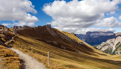 Sentieri (lorenzapanizza) Tags: mountains nature clouds flickr spirit dream nikkor flickrphoto landscapephotography valdifassa sentieri emozione passosannicol photographiedepaysage dolomitenlandschaft nikond7100 20settembre2015 passasannicol filckralbum dolomitescenery dolomitepaysages