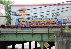 Rumez (Select1200) Tags: railroad chicago graffiti trains freights fr8 benching
