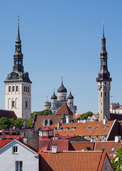 Tallinn Skyline (Maxpack81) Tags: old travel church photography town tallinn estonia fotografie photographie baltic medieval reise estland fotographie baltikum photografie