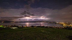 Lightning (He_Da) Tags: clouds schweiz switzerland wolken zug thunderstorm lightning blitz gewitter zugersee