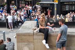 G21_0154 (bandashing) Tags: street england people beer sunshine shop manchester pub triangle drink crowd sunny bluesky alcohol sylhet bangladesh sunnyday socialdocumentary cornexchange arndale printworks aoa bandashing akhtarowaisahmed shoppingf