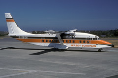 G-OBOH-1-EGJJ-JUN1989 (Alpha Mike Aviation Photography) Tags: jer short jersey egjj jerseyeuropean goboh short360