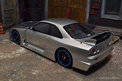 Nissan Skyline R33 GT-R LM (rokusho09) Tags: nissan mans otto winner lm r33 rare jdm gtr 118 diecast