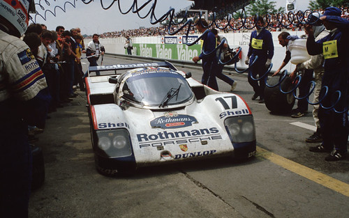 Porsche 962 Ле-Ман 1987 год